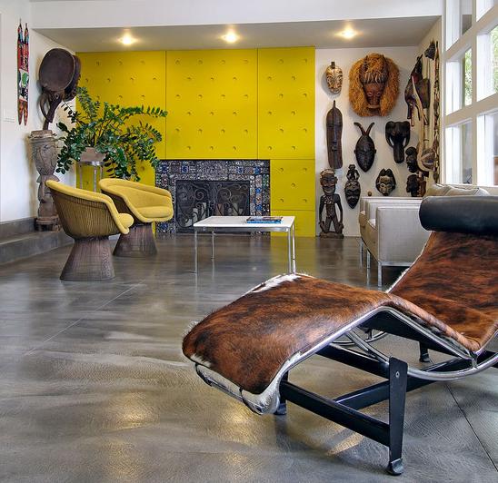 5 Interior design Nature inspire trend african 2013