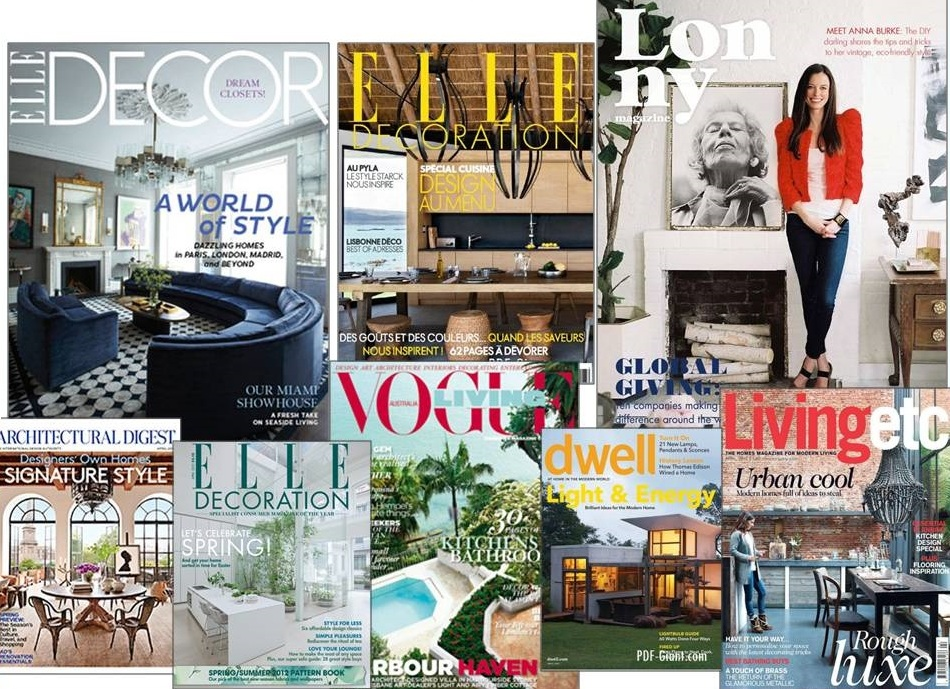 Best Decorating Magazines | Interior Design Giants
