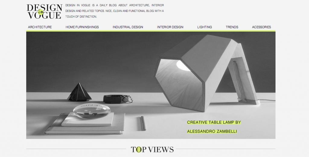 Interior Design News | Design in Vogue