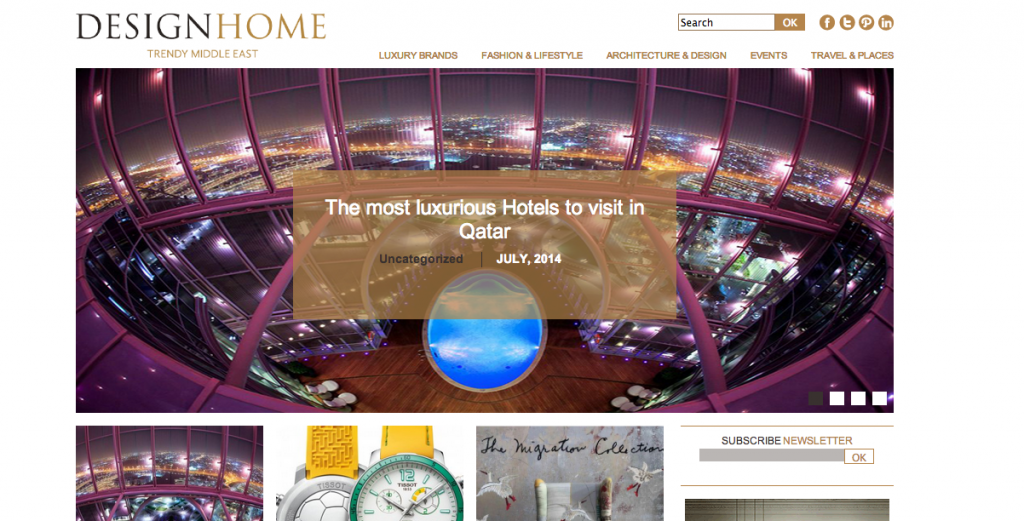 Trendy Trendy Middle East Blog | Design HomeMiddle East Blog