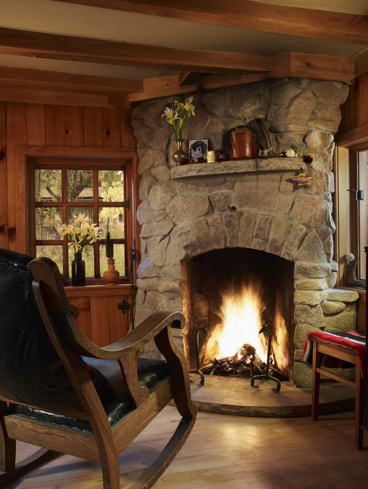 Top Cozy Fireplace to your Living Room   Interior Design ...