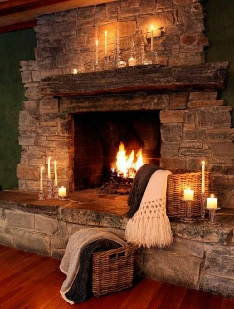 Top Cozy Fireplace to your Living Room | Interior Design ...