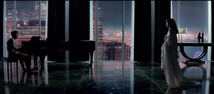 Luxury building The Escala hosts Christian Grey in Fifty Shades of Grey Movie 12