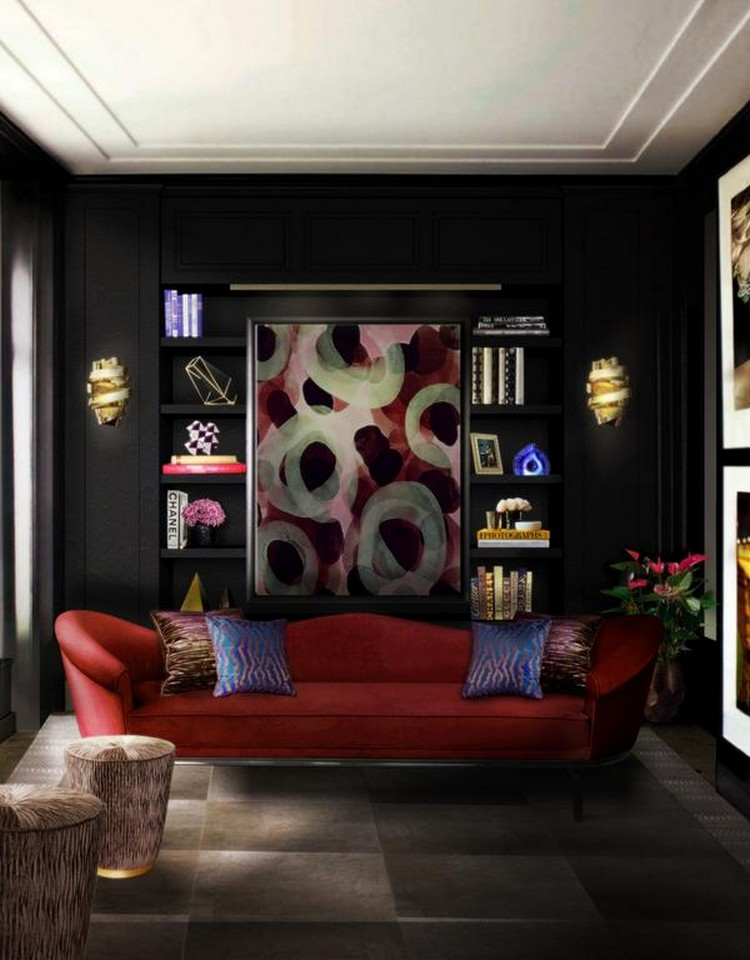 The best room decoration for your apartment in Paris living room