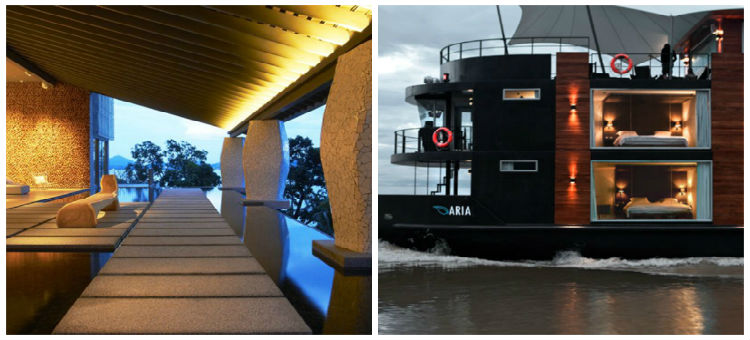 Aqua Mekong Luxury River Cruise Boat by Noor_