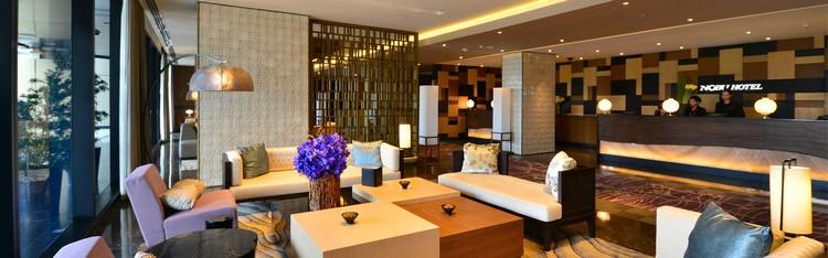 Hotel Interior The Nobu in Manila opened by Nobu Matsuhisa, Robert De Niro and Meir Teper