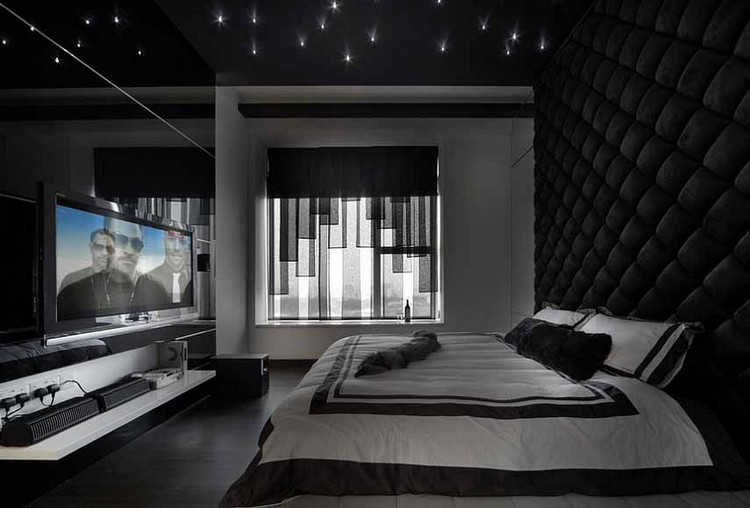 TOP 20 MILLIONAIRE IDEAS FOR YOUR HOUSE 1 Kamar Tidur Pria Maskulin 2
