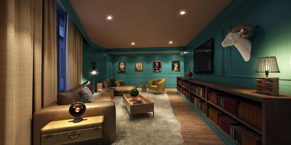 The Amazing Design Project Of Elizabeth Hotel