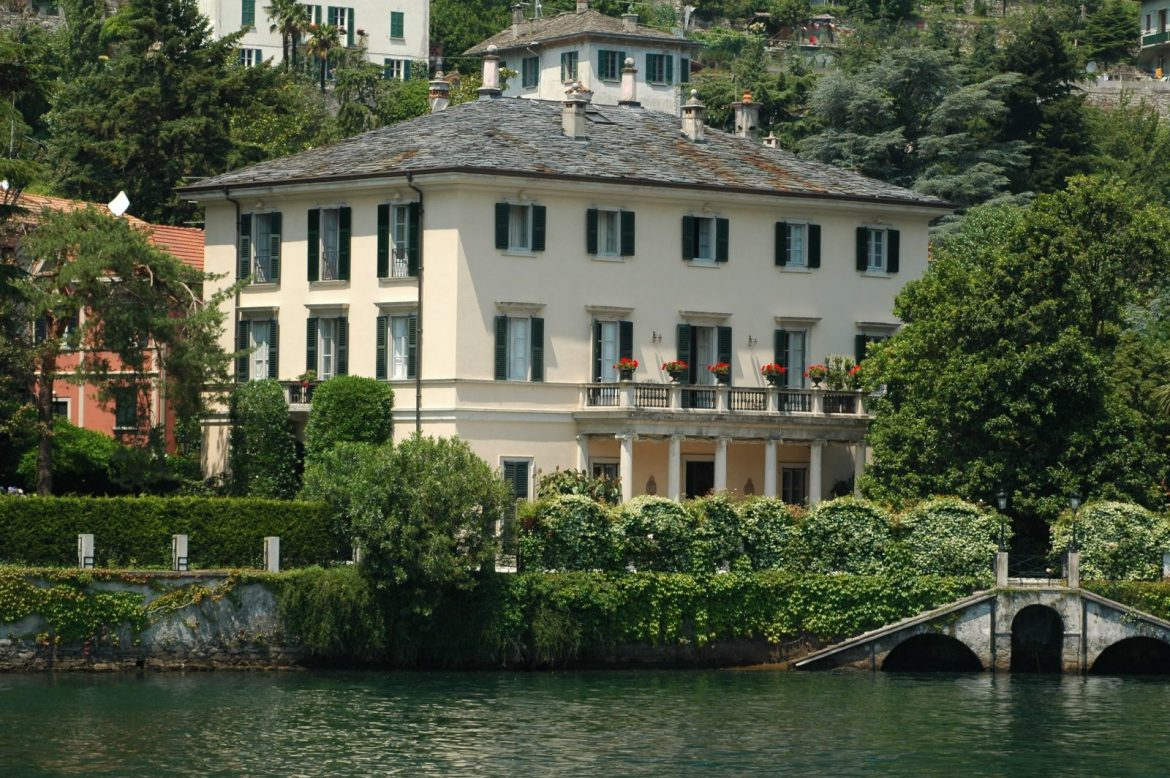 The Incredible George Clooney's Lake Como Mansion