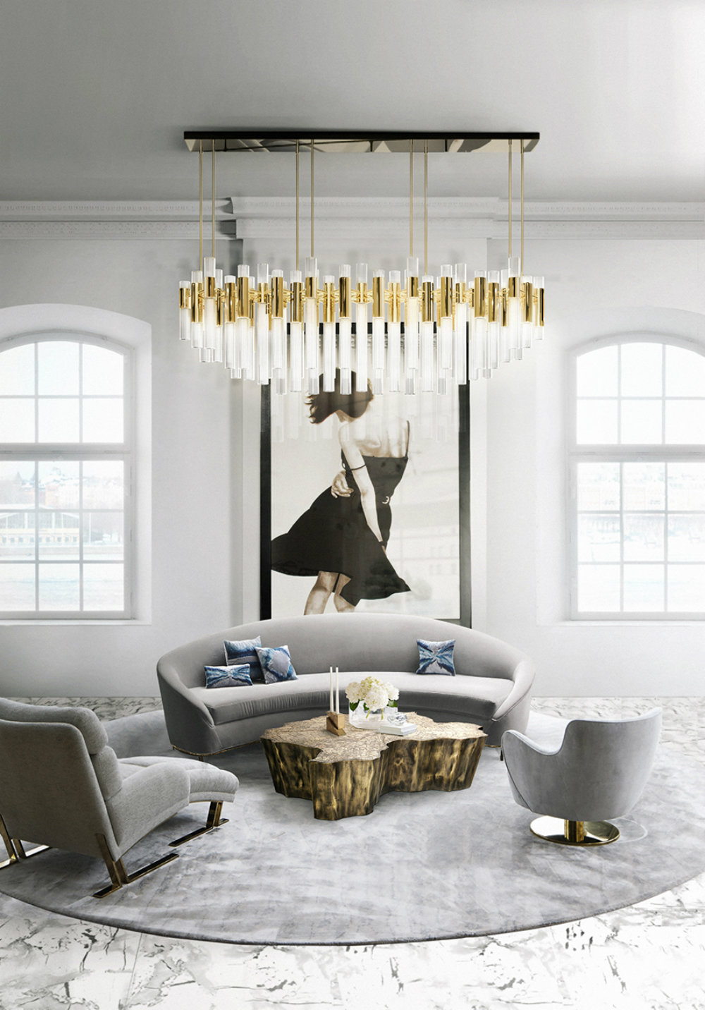 Amazing Chandeliers For Your Luxurious Living Room