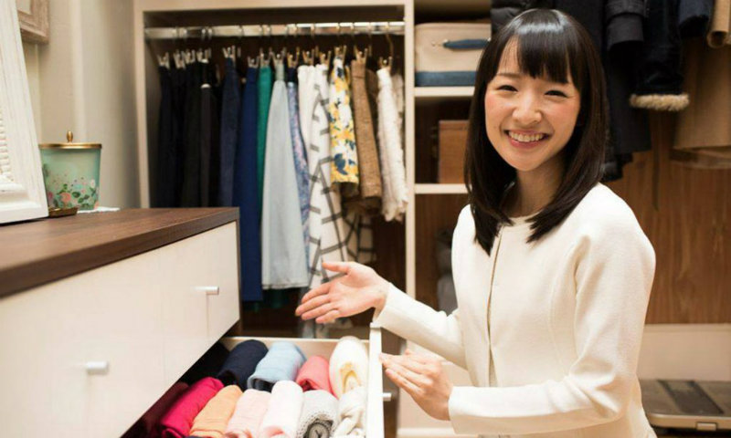 How To Have An Organized Home With Marie Kondo's Best Tips