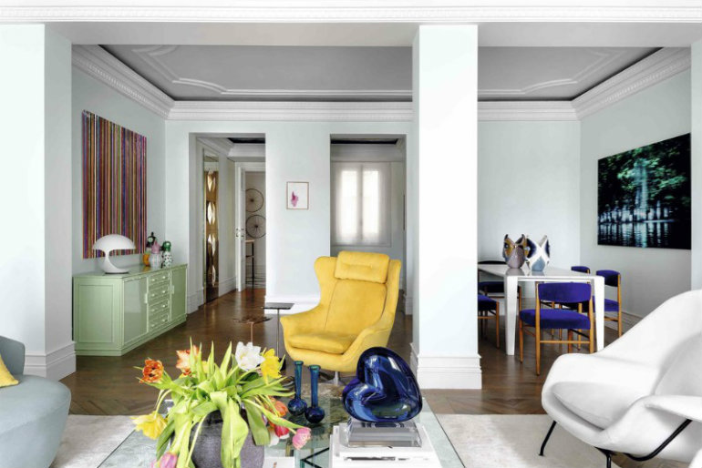 Inside Interior Designer Ricardo de la Torre's luxurious apartment