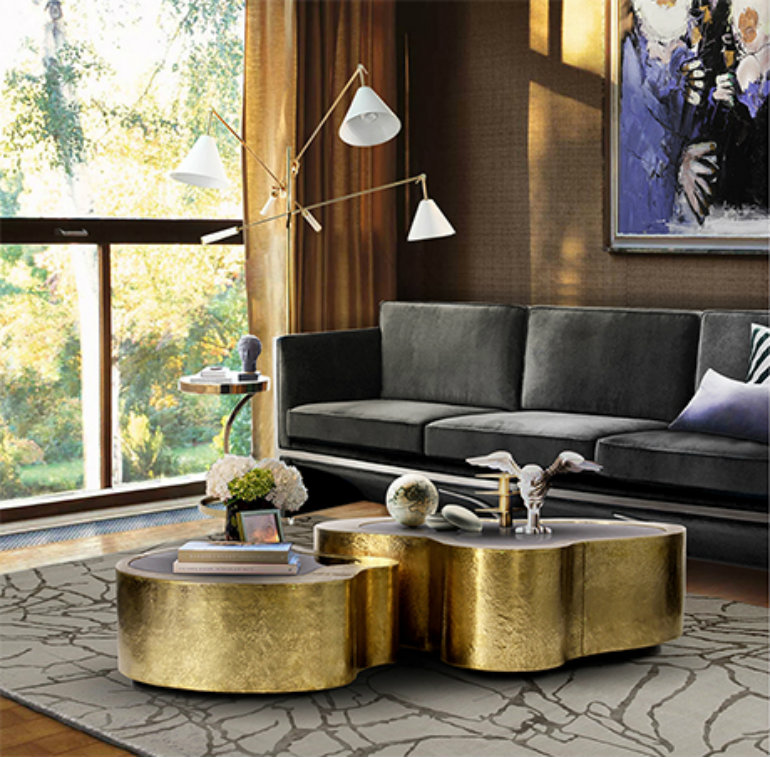 amazing ideas to bring curved furniture to your living room