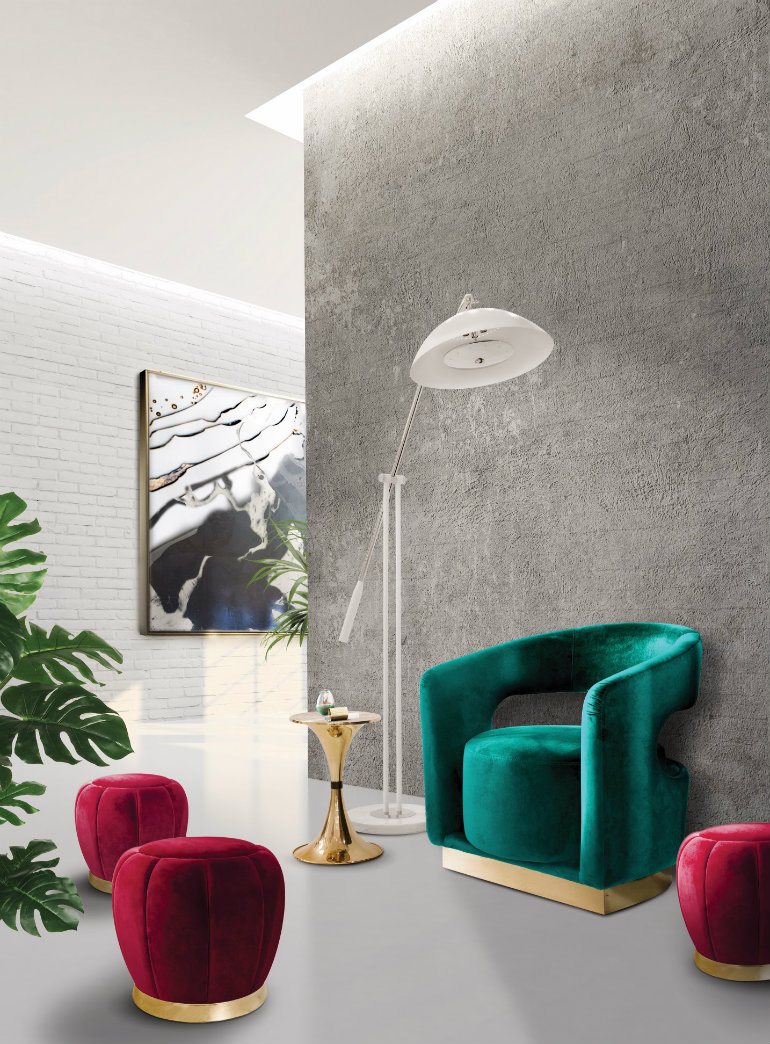 amazing ideas to bring curved furniture to your living room 3