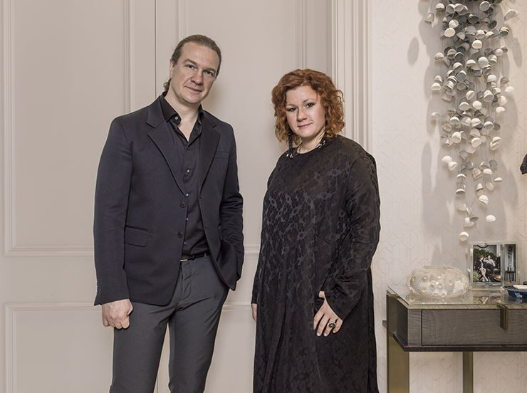 Rusian Interior Designers Oleg Klodt and Anna Agapova in Interview